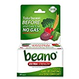 beano Ultra 800 Gas Prevention, Food Enzyme Dietary Supplement, Help Digest Gas-Causing Foods, 30 Tablets