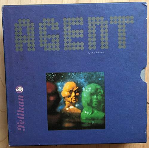 Agent ( Brettspiel) Pelikan Buchkassetten - Reihe.