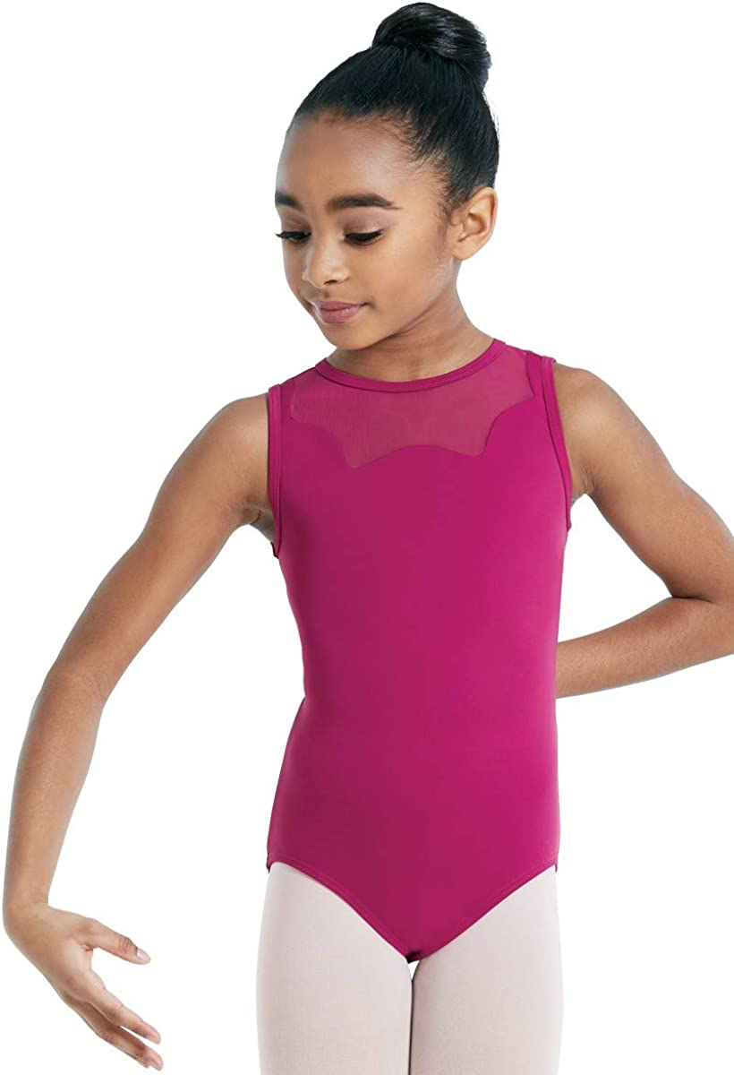 Balera Super popular specialty store Leotard Girls One Japan Maker New Piece for Keyhole Dance Tank Style with
