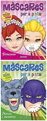 Màscares per a pintar (2 tìtols) (Mascaras per a colorir)