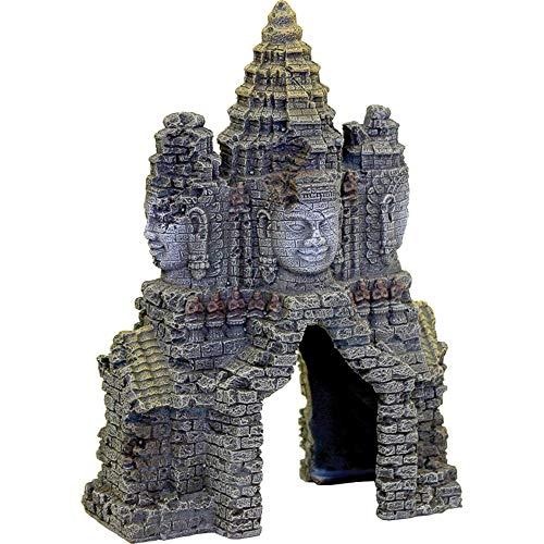 Rosewood 91485 Aquaristik-Ornament Tor zur Tempelanlage Angkor Wat