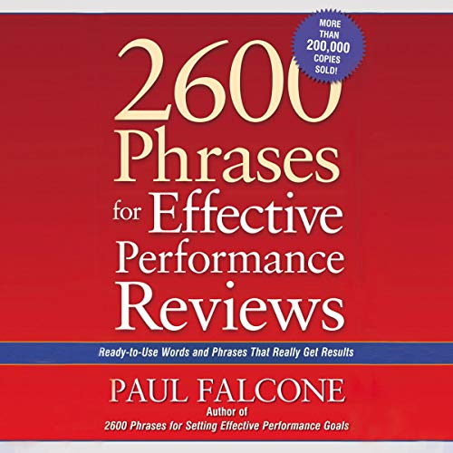 2600 Phrases for Effective Performance Reviews cover art