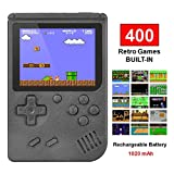Nacido Perfecto Handheld Game Console,Mini Retro FC Games Consoles ,Built-in 400 Classic 8