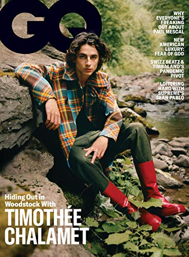 "GQ Magazine, November 2020 | Timothée Chalamet (""Dune"")"