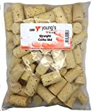 100 NEW PLAIN STRAIGHT CORKS FOR WINE HOME WINEMAKING by Young's
