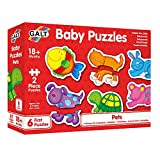 Galt Toys Puzles Infantiles-Animalitos, Multicolor (1003034) , color/modelo surtido