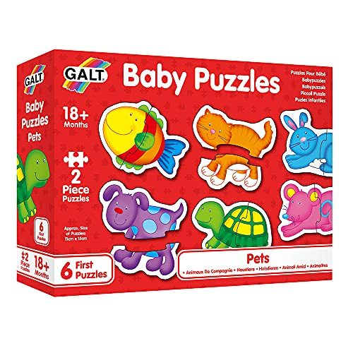 Galt Toys, Baby Puzzles - Pets, Jigsaw Puzzles for Kids, Ages 18 Months...