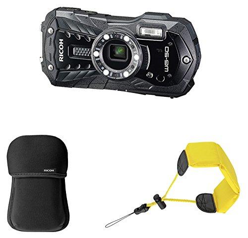 """Ricoh WG-50 Kit Cámara compacta 16MP 1/2.3"""" CCD 4608 x 3456Pixeles Negro - Cámara Digital (16 MP, 4608 x 3456 Pixeles, CCD, 5X, Full HD, Negro)"""