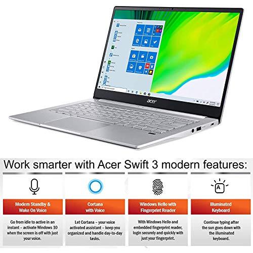 2020 Acer Swift 3 SF314 Thin & Light Laptop, 14