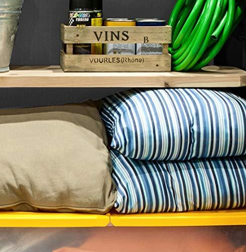 Mülltonnenbox von Keter Store it Out Midi, Schwarz, 845L - 6