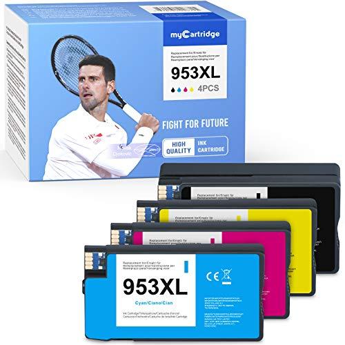 Mycartridge 4 kompatibel HP 953XL 953 XL Multipack wiederaufbereitete Druckerpatronen für HP OfficeJet Pro 7720 7730 7740 8210 8218 8710 8715 8720 8725 8730 8740 All-in-One-Drucker Item Title