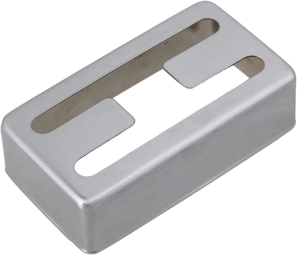 Popular brand Metal Copper-nickel Alloy Chrome Humbucker Cover Elec Pickup Soldering for