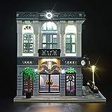 LIGHTAILING Set di Luci per (Creator Expert la Banca) Modello da Costruire - Kit Luce LED Compatibile con Lego 10251(Non Incluso nel Modello)