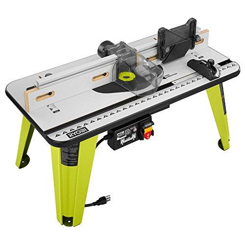 New Ryobi Universal Router Table Wood Working Tool Adjustable Fence A25rt03 Nib