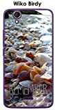 ONOZO Wiko Birdy Shell Case with Remember Beach and Shells
