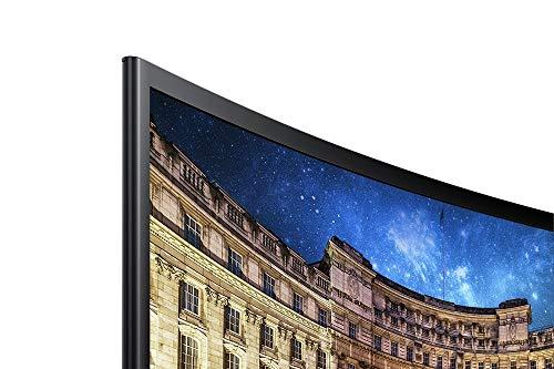 Samsung Monitor C24F396 Curvo, 24'' Full HD, 1920 x 1080, 60 Hz, 4 ms, Freesync, Nero