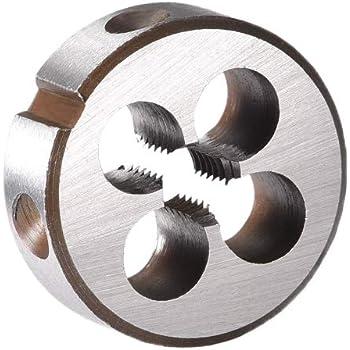uxcell M2.5 X 0.45 Metric Round Die Machine Thread Die 16mm OD Round Threading Die Alloy Steel