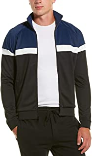 Vince Mens Color Block Track Jacket