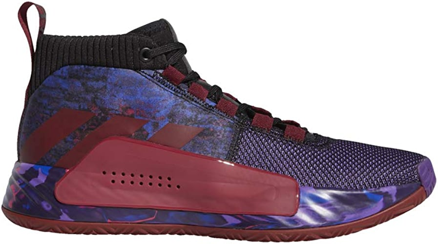 Adidas Dame 5, Chaussures de Basketball Homme