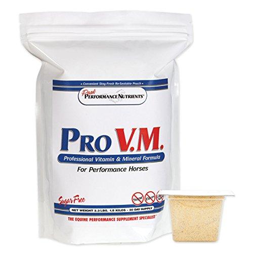 Peak Performance PRO V.M. Dietary Supplement for Race Horses - 3.3 LB