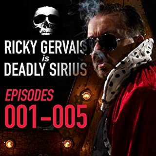 Ricky Gervais Is Deadly Sirius: Episodes 1-5 cover art