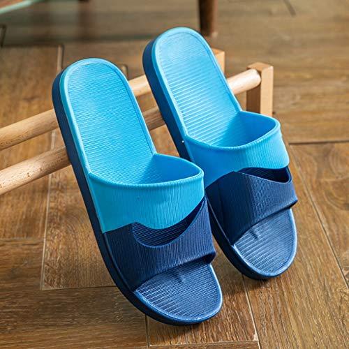 YIXIN2013SHOP Flip Flops Sandalen und Pantoffeln Sommer Home Männer Indoor Badezimmer Badewanne Sandalen Startseite Wear Anti-Rutsch-Schuhe Hausschuhe (Size : 44)