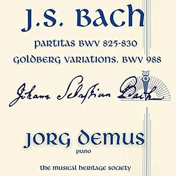 Bach: Partitas BWV 825-830 - Goldberg Variations