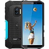 Android 11 Telefono Movil Resistente OUKITEL WP12 Pro, 4GB 64GB Dual SIM Rugged Smartphone Baratos, 5.5'' HD 13MP 8MP Cámara, Impermeable IP68 Robusto, Batería 4000 mAh con NFC Móviles Libres Azul