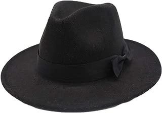 Hat Fascinator Hat Size 56-58CM Fashion Men Women Fedora Hat With Cloth Belt Wide Brim Church Hat Wool Trilby Jazz Hat Fashion Hat