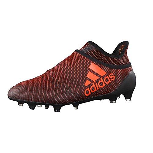 adidas X 17+ Purespeed FG, Zapatillas de Deporte Hombre, Negro (Negbas/Rojsol/Narsol), 39 1/3 EU
