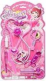LG-Imports Maletín de médico Princesa 8 piezas, color rosa