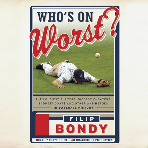 Who's on Worst? audiobook cover art