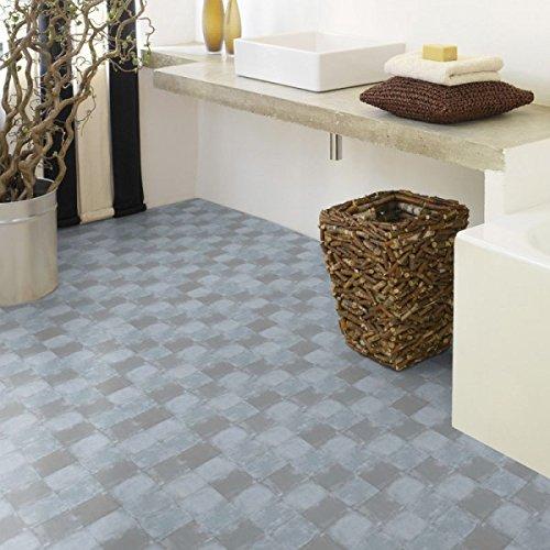 Gerflor selbstklebende Vinyl-Fliesen - Design Square Clear 0629 Vinyl Fußbodenbelag 5m² pro Paket Vinylboden, Klebefliese, Vinylfliese
