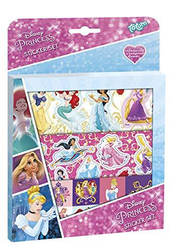 TM Essentials 044142 Disney Princess Set mit über 50 Stickern, bunt, 17 x 1 x 24