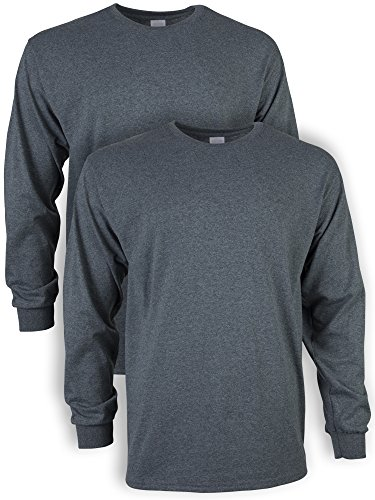 Organic Grey Cotton Sweater Men