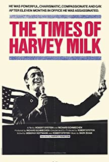 Times of Harvey Milk Movie Poster (27 x 40 Inches - 69cm x 102cm) (1984) -