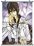 Home Decor Anime poster wall Scroll Vampire Knight Kuran Kaname Cosplay 23.6 X 35.4 Inches -065