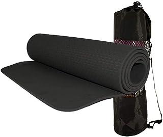 Tapete p/Yoga c/Bolsa 183x61x0,8cm - Preto - Mbfit