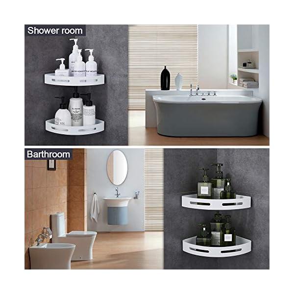 Hoomtaook Estanteria Ducha Estantería de Esquina para Baño Ducha Estanteria Baño Estantería de Esquina para Baño Ducha…