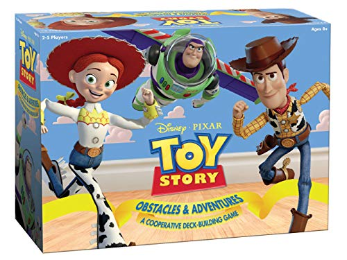 Disney Pixar Toy Story Cooperative Deck-Building Game | Family Board Game Featuring Characters and Artwork from Toy Story Movies and Short Films | Officially Licensed Disney Pixar Merchandise