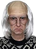 Old Man Wig - White Bald Cap Wigs Ben Franklin...