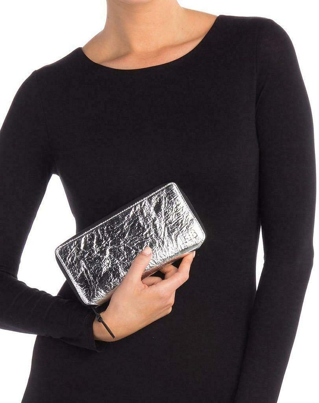 Rag & Bone Star Wars Silver Leather ZipAround Wallet