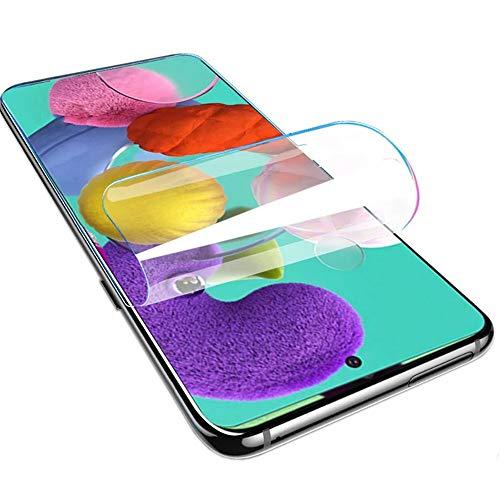 Premium hidrogel Protector de Pantalla para Samsung Galaxy S10 Lite/Galaxy Note 10 Lite, 2 Unidades Suave Película Protectora [Transparente] [Alta sensibilidad] (Película no templada)
