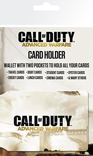 1art1 Call of Duty, Advanced Warfare, Cover Tarjeteros para Tarjetas De Crédito...