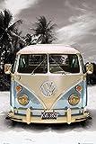 Close Up VW Transporter Poster Love California Camper (61cm