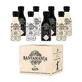Colleción SANTAMANIA GIN – Surtido 8 miniaturas 5cl.