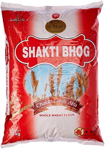 Shakti Bhog Chakki Fresh Atta, 10kg