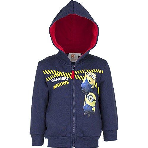 Disney Minions Kapuzensweatjacke Jacke Jungen 3-10 Jahre alt