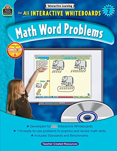 Math Word Problems For All Interactive Whiteboards Grade 2