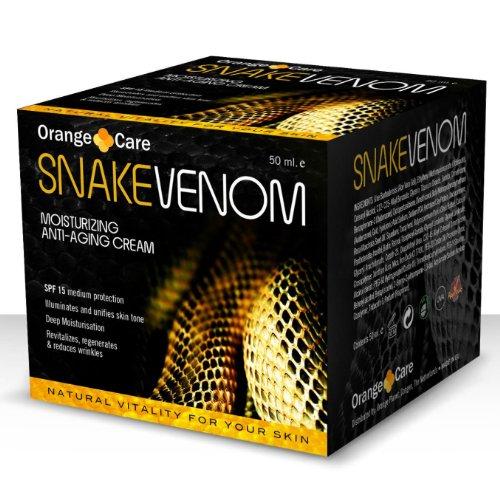 Orange Care - Crème anti-âge au venin de serpent